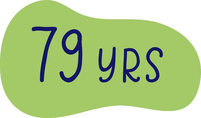 79 years